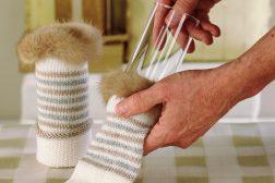Julestjerne i sokkevase, dekorasjon, , trinn 1