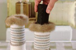 Julestjerne i sokkevase, dekorasjon, , trinn 2
