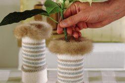 Julestjerne i sokkevase, dekorasjon, , trinn 5