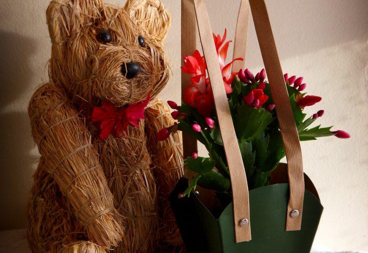 Blomster i julegave