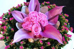 La blomstene skape festen