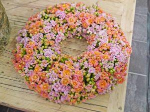 Blomsterkrans av ildtopp