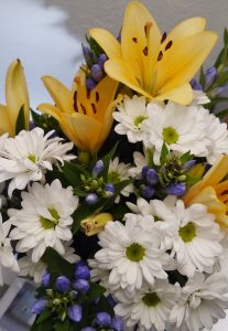 Krysantemum og liljer