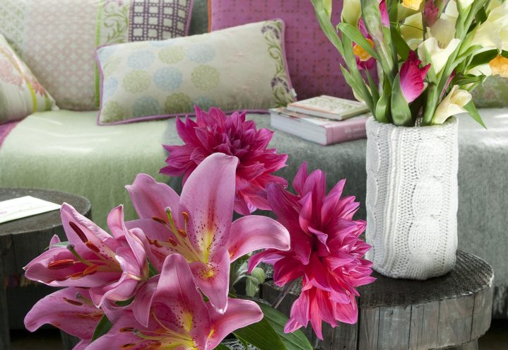 Liljer, georgine og gladioler
