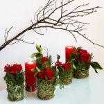 Enkel og dekorativ dekorasjon til julebordet