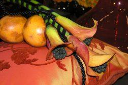 Dekorasjon i oransje