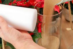 Adventspendel med julestjerner, trinn 6