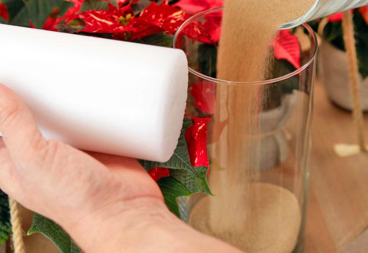 Hengende julependel, adventskrans på en helt ny måte
