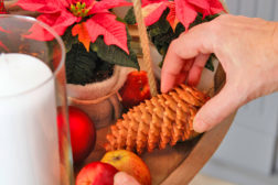 Adventspendel med julestjerner, trinn 7