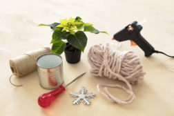 Ampler for julestjerner, diy, trinn 1