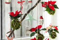 Juledekorasjon på liten plass