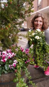 Informasjonsansvarlig Tove Ladstein, Opplysningskontoret for blomster og planter
