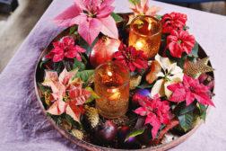 Luksuriøs julestemning på et brett