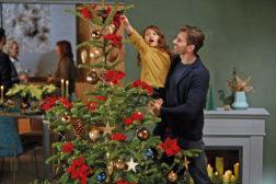 Stjernen i toppen av juletreet er den aller fineste!
