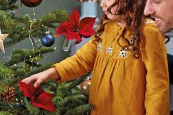 Magiske julestjerner er perfekte også til å pynte juletreet