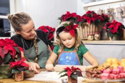 Julebakst med julestjerneinspirasjon