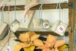Rustikk julekalender; enkelt, vakkert og hjemmelaget