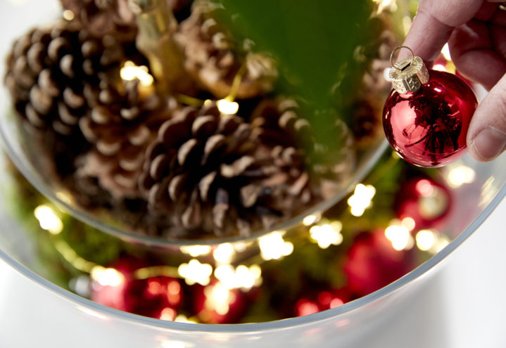 Julens flotteste lysende potte lager du selv! Trinn 3