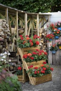 Hage i høyden - bygg blomsterkasser i etasjer!