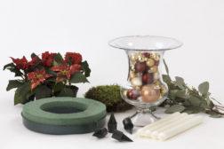 Adventsstake i vase, DIY, (1/5)