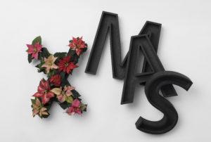 Juledekorasjon med bokstaver, DIY